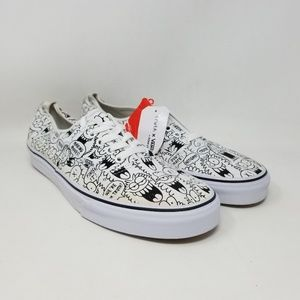 Vans X Truth Authentic White Sneakers Men's Sz 11